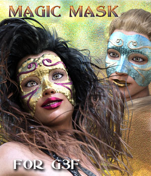 MAGIC MASK For Genesis 3 Female(s) 3D Figure Assets Mar3D
