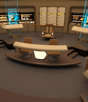Starship Bridge XT 2 (for DAZ Studio)