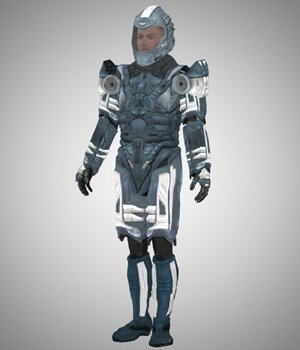 Sci-Fi Marine (M4) (for Poser) 3D Figure Essentials VanishingPoint