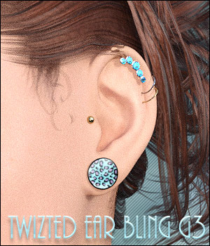 Twizted Ear Bling G3