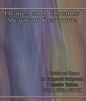 Drapes and Curtains: Merchant Resource 2D Merchant Resources nelmi