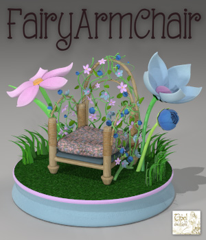 FairyArmChair 3D Models Tipol