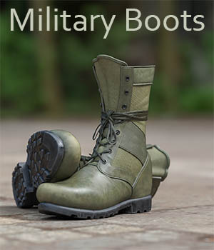 Slide3D Military Boots for Genesis 3 Male(s) 3D Figure Assets Slide3D