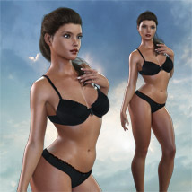 Ana for Genesis 3 Female image 2