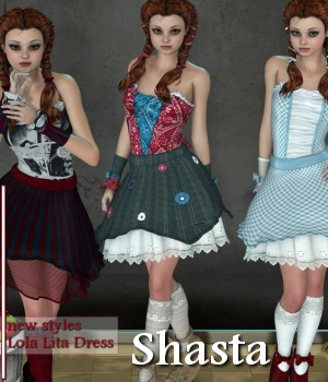 Shasta 3D Figure Essentials JudibugDesigns