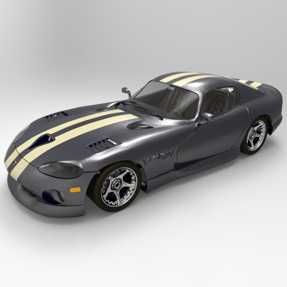 Dodge Viper (for DAZ Studio)