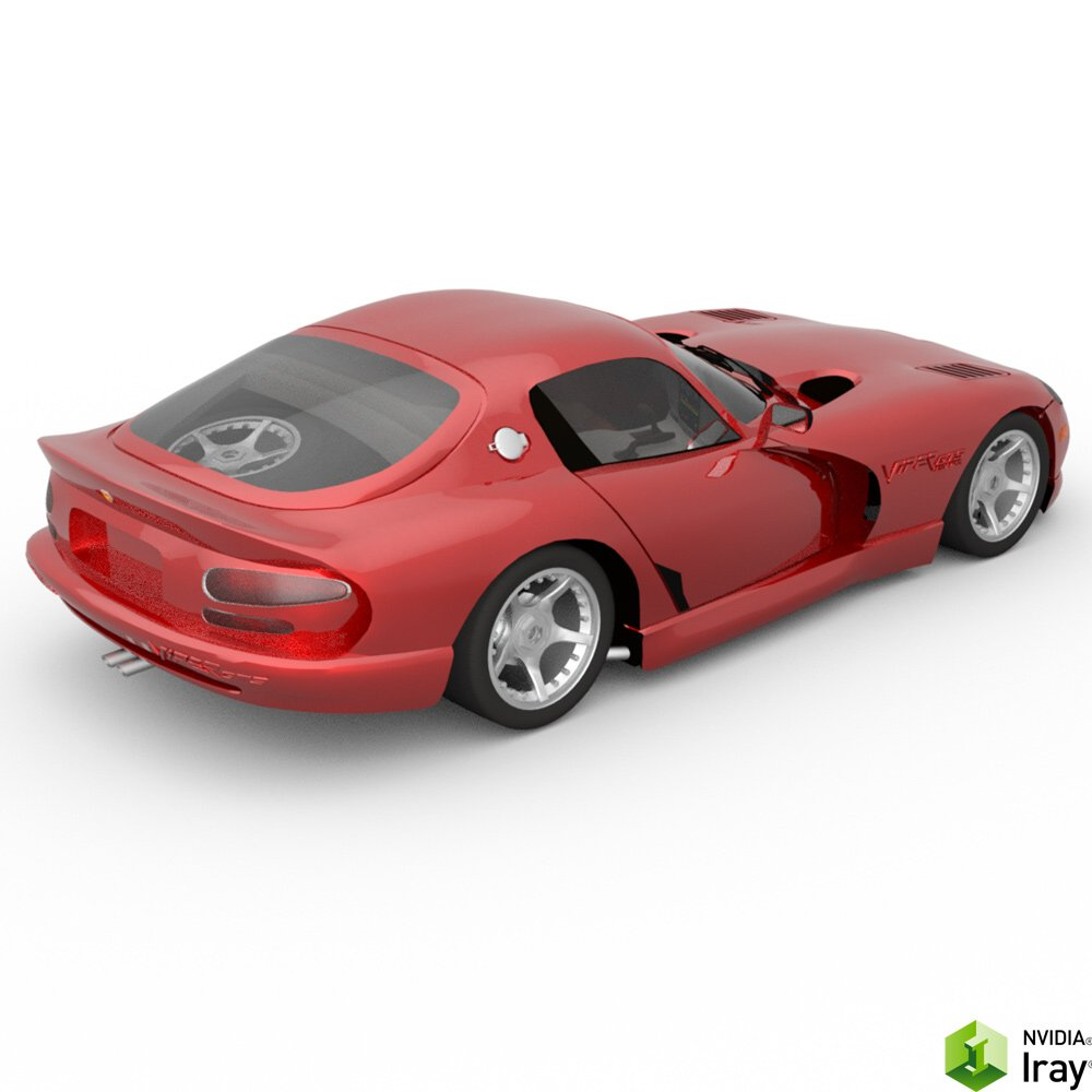 Dodge Viper For Daz Studio 3d Models Digimation Modelbank