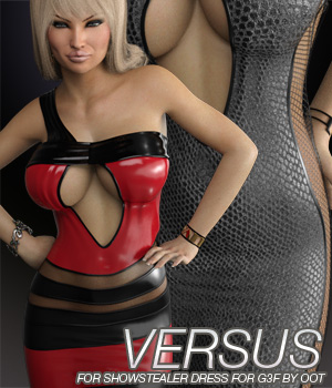 VERSUS - Showstealer Dress for Genesis 3 Female(s) 3D Figure Essentials Anagord