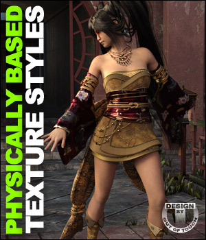 OOT PBR Texture Styles for Jade Tiger 3D Figure Essentials outoftouch