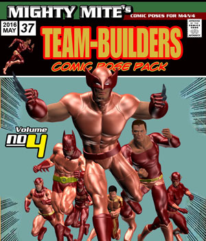 The Team-Builders v04 MM4MV 3D Figure Assets MightyMite