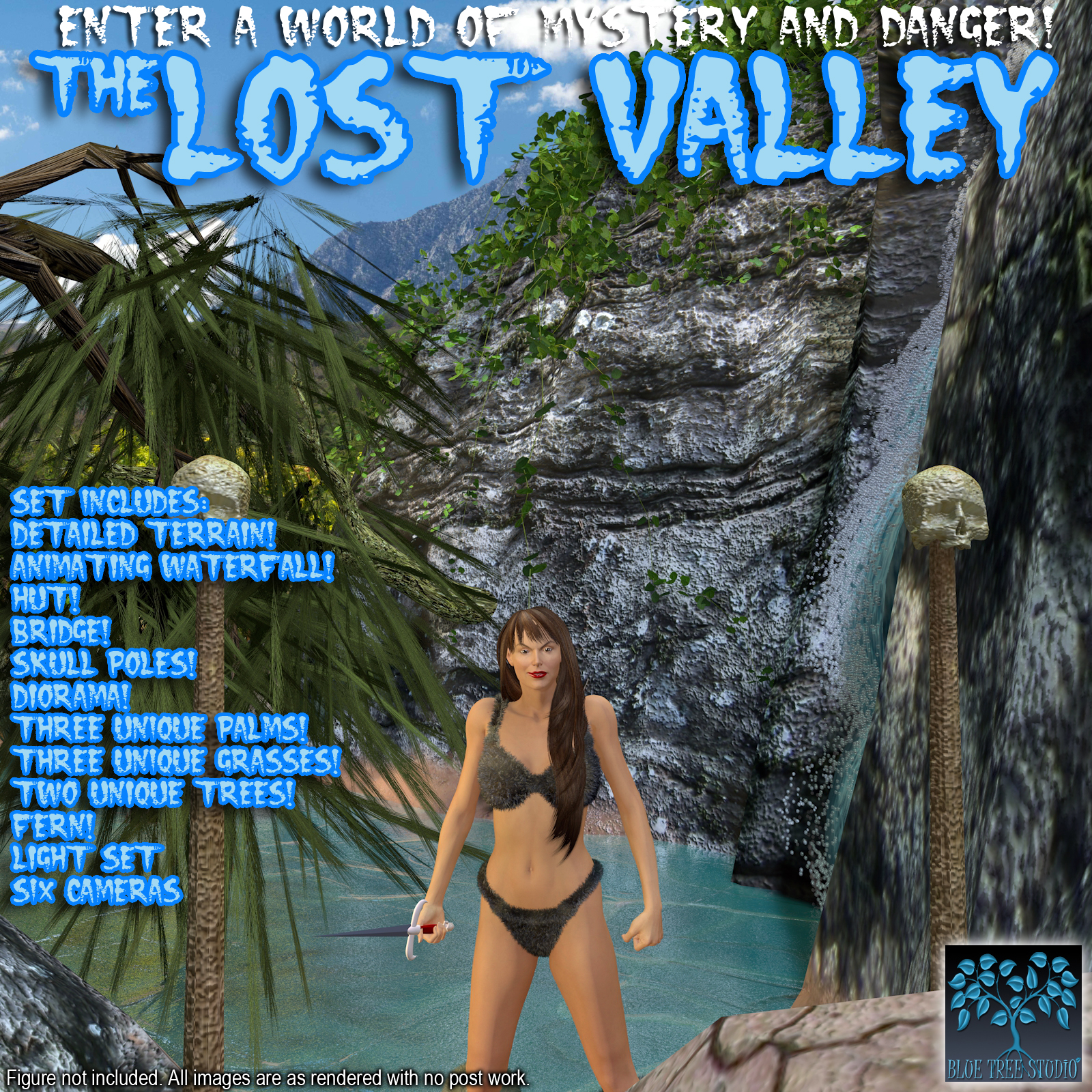 Lost Valley by BlueTreeStudio