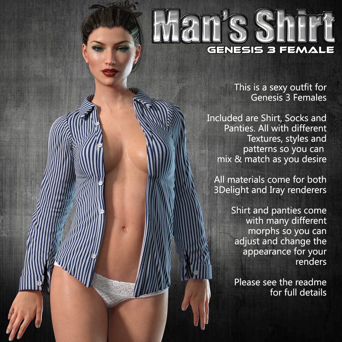 Exnem Man Shirt for G3 Females