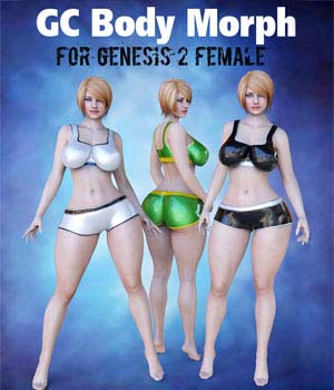GC BodyMorph for G2F 3D Figure Essentials guhzcoituz