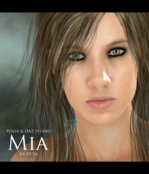Mia for V4, V5 & V6 3D Figure Essentials adamthwaites