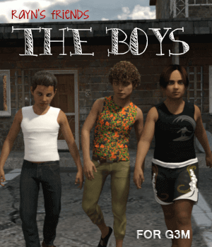 Rayn's Friends: The Boys 3D Figure Essentials AliveSheCried