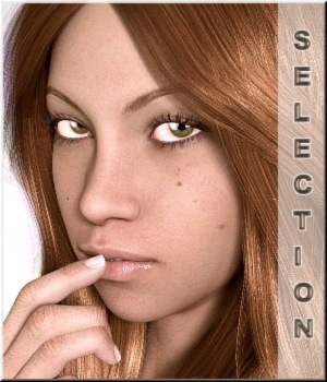 Selection- Faces V7/G3 Merchant Resource 3D Figure Assets Merchant Resources LUNA3D