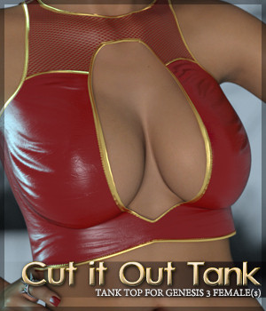 Cut it Out Tank for G3F(s) 3D Figure Essentials Sveva