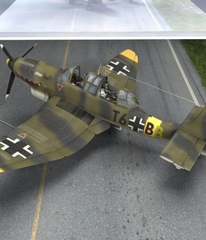 Ju-87 Stuka (for Poser) 3D Models VanishingPoint