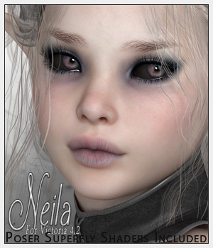 SV7 Neila 3D Figure Essentials Seven