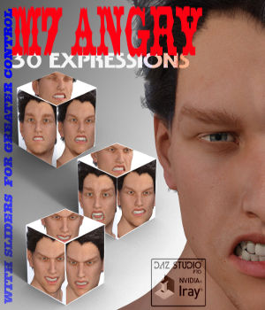 M7 ANGRY EXPRESSIONS 3D Figure Essentials farconville