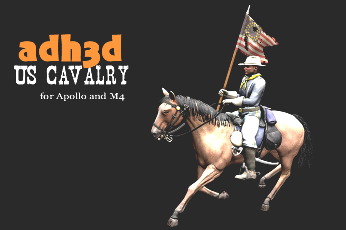 US Cavalry pack - Extended License