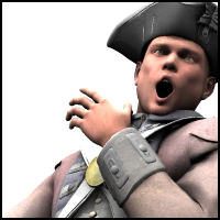 American Revolution soldiers - Extended License image 1