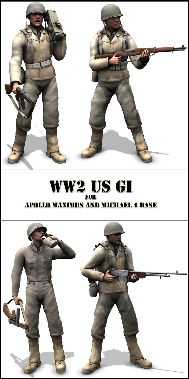 WW2 US GI - Extended License