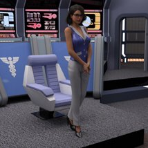 Starship Bridge 12 (for DAZ Studio) image 2