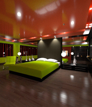AJ Modern Interior 5 3D Models -AppleJack-