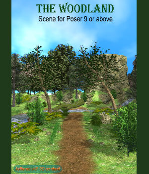 The Woodland Poser 3D Models JeffersonAF