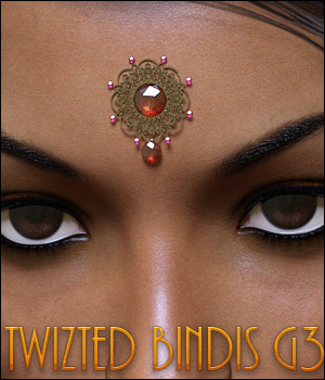 Twizted Bindis 3D Figure Essentials TwiztedMetal