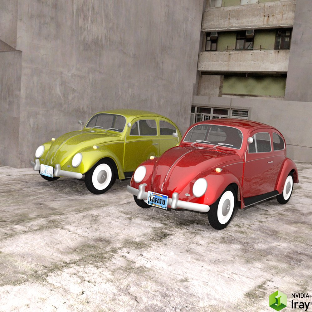 Volkswagen Beetle for DAZ Studio