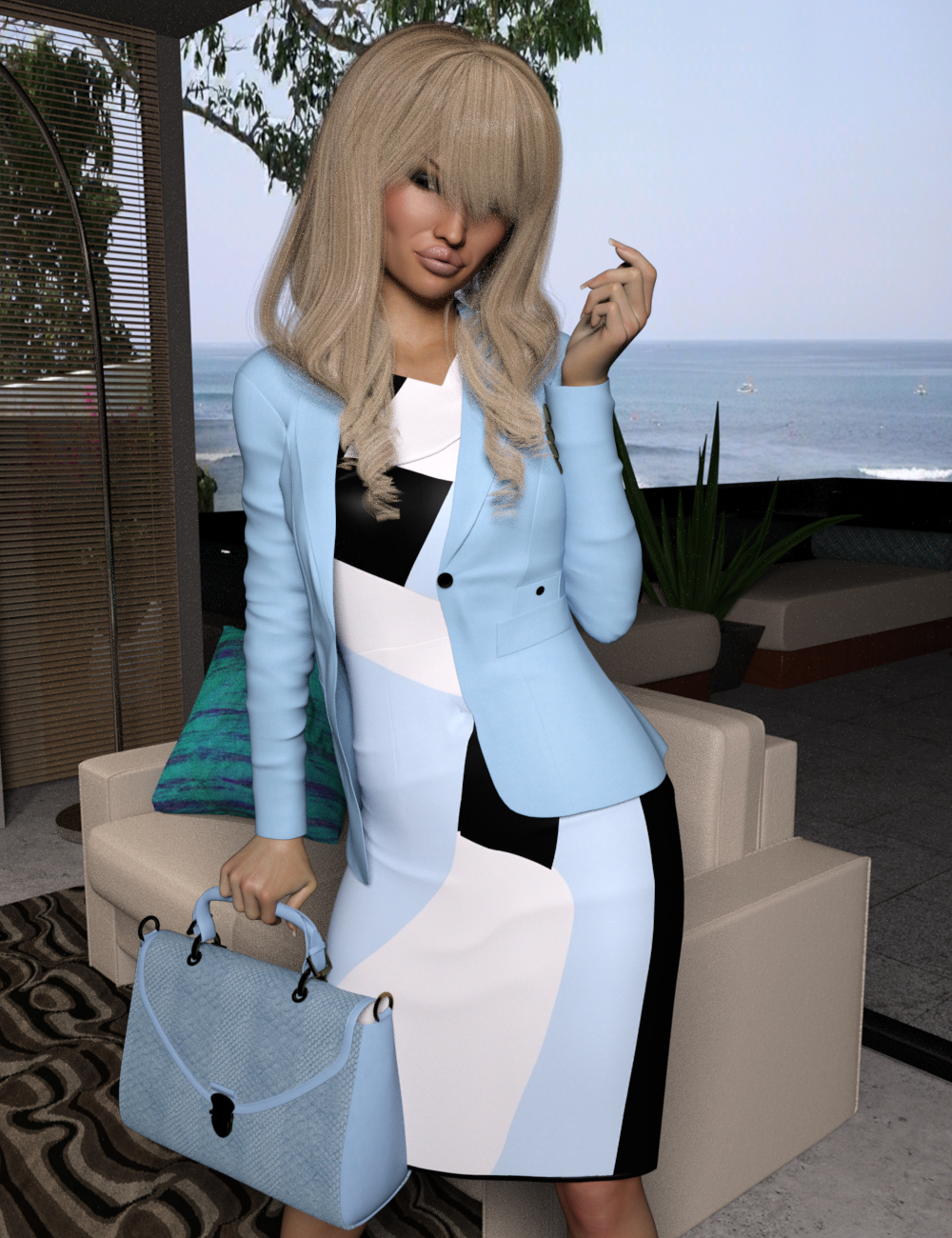 VERSUS - Business Outfits Package for Genesis 3 Females