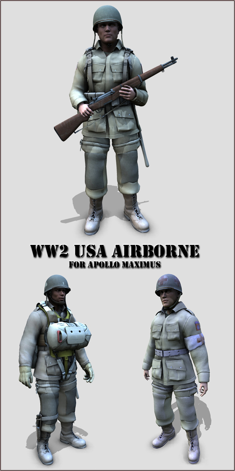 WW2 USA airborne - Extended License