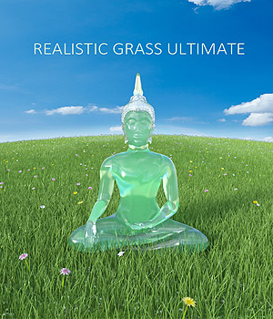 Realistic Grass Ultimate 3D Models whitemagus