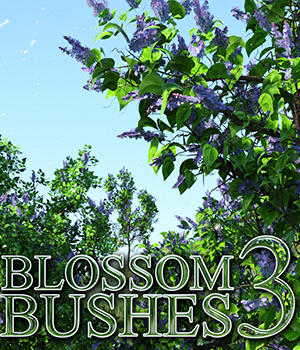 Flinks Blossom Bushes 3 by Flink