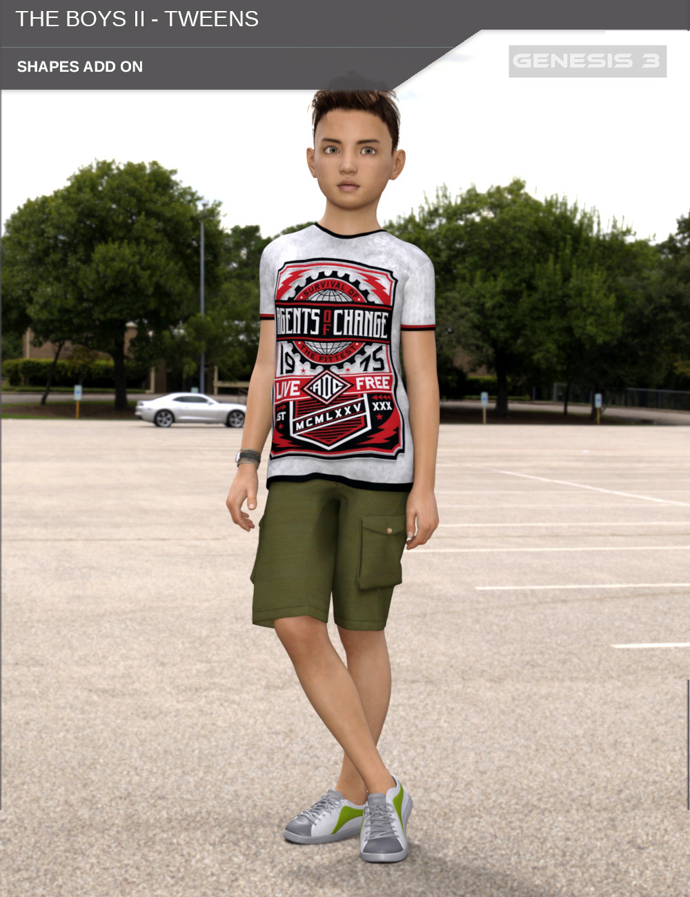The Boys II - Tweens - Shapes for Genesis 3 Male by SF-Design