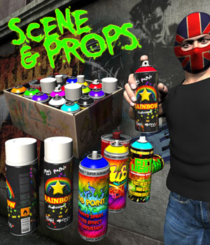 Graffiti Art 3D Models coflek-gnorg