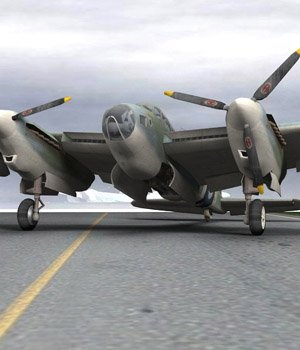 DeHavilland Mosquito (for Poser) 3D Models VanishingPoint
