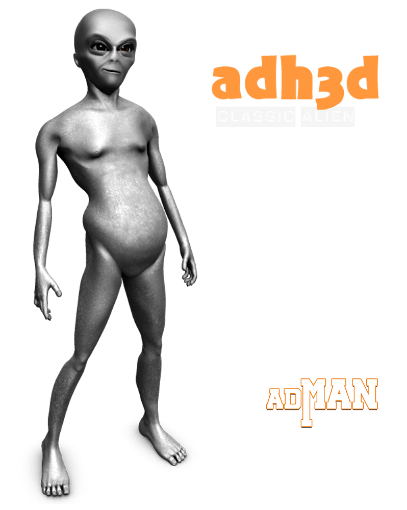 Classic Alien for adman - Extended License by adh3d