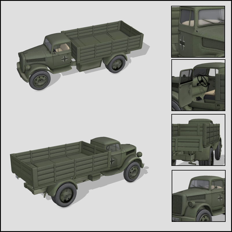 WWII blitz truck - Extended License