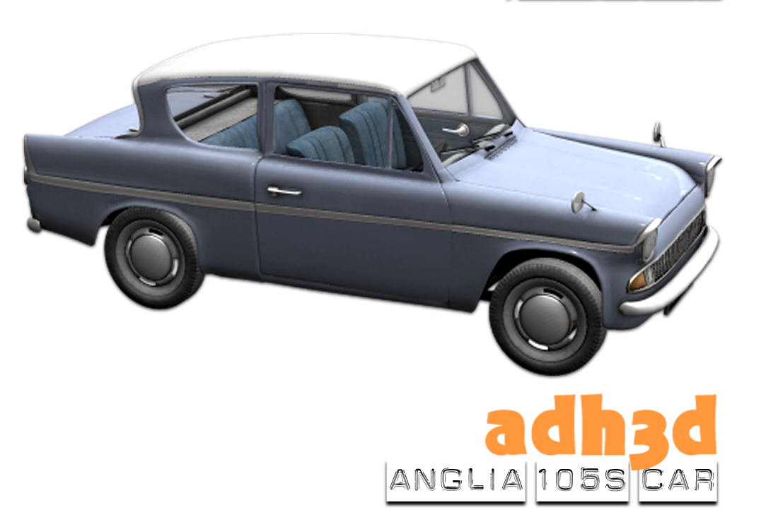 Anglia 105s  car - Extended License