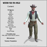 Western Pack for APollo - Extended License image 1