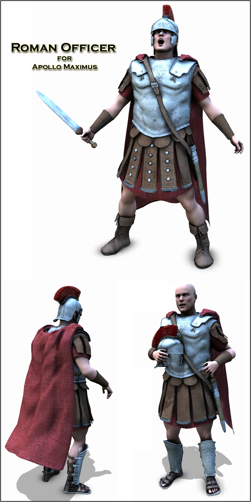 Roman Officer - Extended License