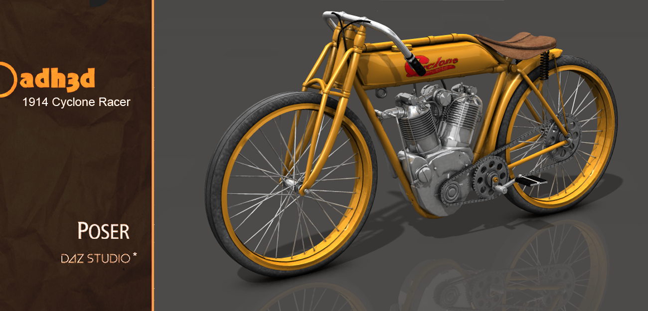 1914 Cyclone Racer - Extended License by adh3d
