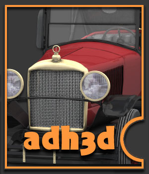 1918 Page Six - Extended License 3D Models Extended Licenses adh3d