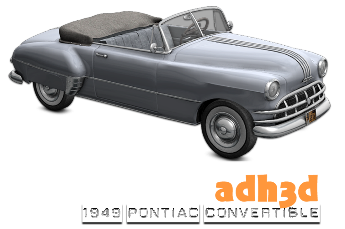 1949 Pontiac Convertible - Extended License
