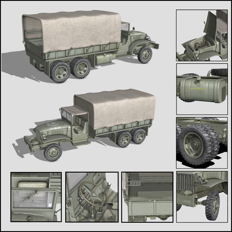 WW2 USA CCKW TRUCK - Extended License