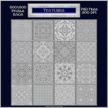 Ornamental Silver Seamless Texture Pack image 1