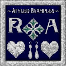 Ornamental Silver Seamless Texture Pack image 3